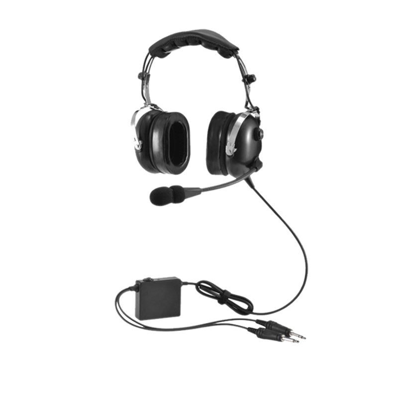 Flight Pro Carbotech Lightweight Aviation Headset with ANR